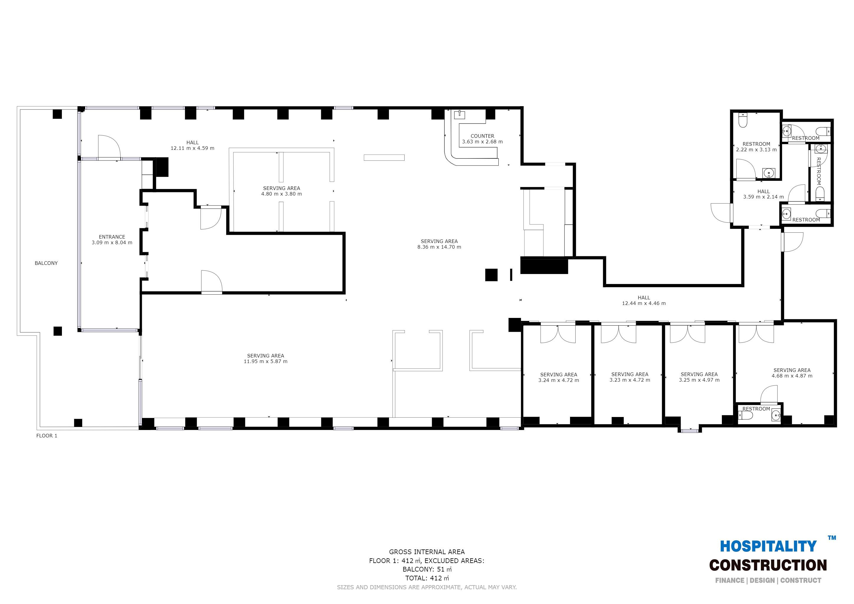 hot space floor plan